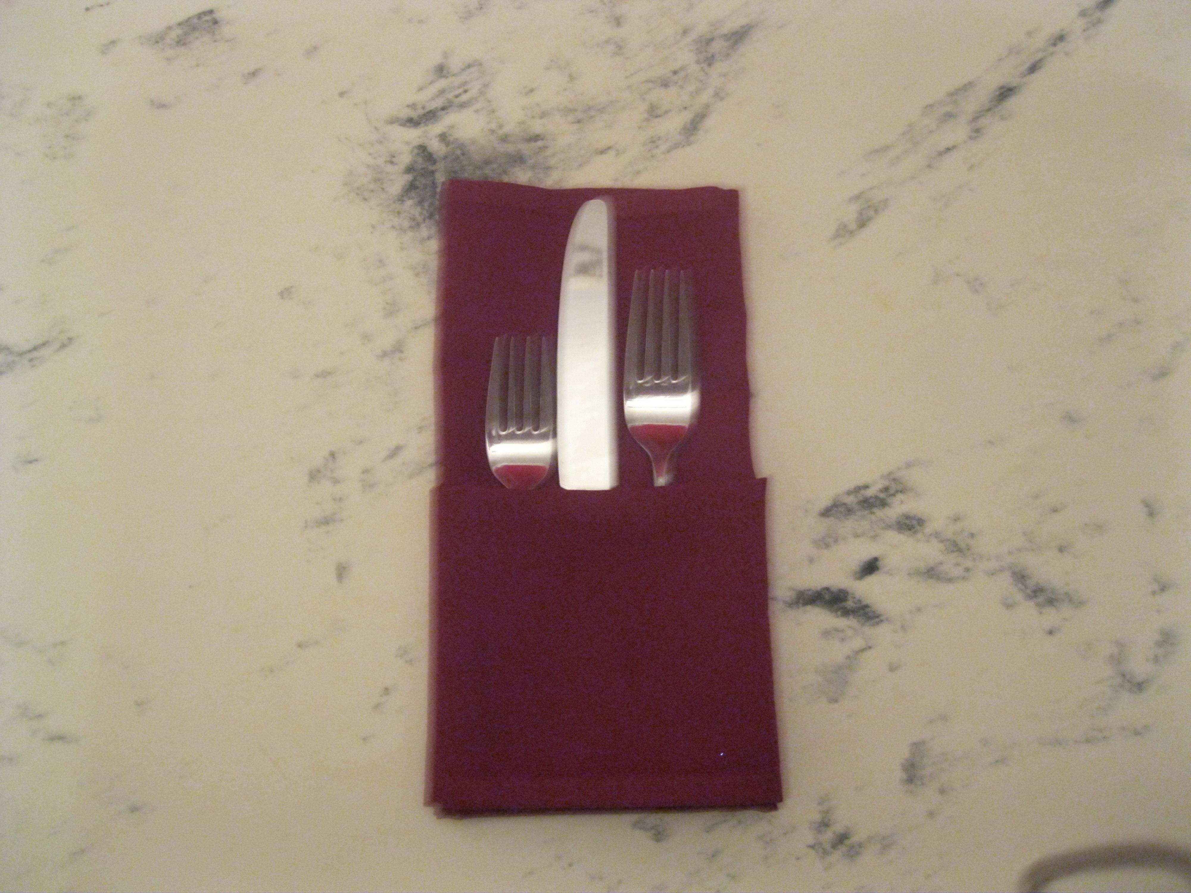 How To Fold A Napkin The Hospitality Formulathe Hospitality Formula